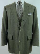 Brooks Brothers Wool Tweed Herringbone Blazer Suit Jacket Sport Coat 44R EUC USA