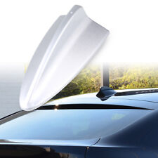 Universal Painted Silver Dummy Shark Fin BMW Style Roof Decorate Aerial Antenna