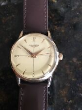 VINTAGE LONGINES  MEN'S WRISTWATCH 10K GOLD FILLED Cal. 23ZS 17 Jewels