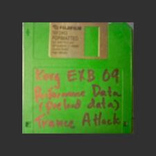 Korg EXB 09 Trance Attack PRELOAD FLOPPY disc Performance Data korg triton