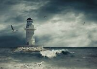 A1| Awesome Lighthouse Poster Print Size 60 x 90cm Travel Poster Gift #16589