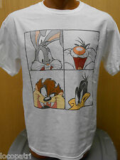Mens Licensed Looney Tunes Bugs Bunny and Friends Shirt New L