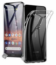 Housse etui coque silicone gel fine pour Nokia 3.2 + film ecran - TRANSPARENT TP