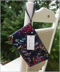 Vera Bradley Escapade Wristlet Wallet Handbag - MIDNIGHT WILDFLOWERS 🌸 NWT $45
