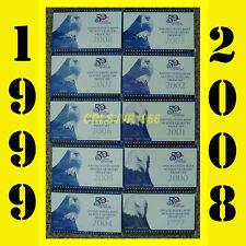 1999-2008 US MINT STATEHOOD 50 STATE QUARTERS PROOF SET+BOX+COA COLLECTOR SERIES