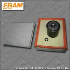 Kit De Servicio De Renault Laguna Ii 3.0 V6 Fram Aceite Aire filtros de cabine (2001-2007)