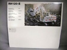 RH120-E Terex O&K Shovel #2771/05 NEW SLEEVE ONLY MODEL NOT INCLUDED Conrad 1:50