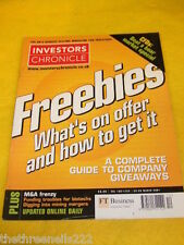 INVESTORS CHRONICLE - COMPANY GIVEAWAYS - MARCH 23 2001