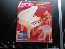 Mattel House Accessories Dream Piano Electronic Barbie 5085
