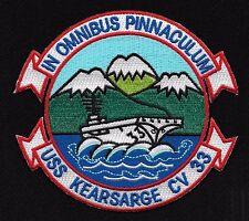 USS KEARSARGE CV-33 Aircraft Carrier Military Patch IN OMNIBUS PINNACULUM
