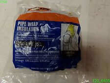 """Frost King Foam And Foil Pipe Insulation 2"""" WIDE 1/8"""" THICK 15 FT LONG"""