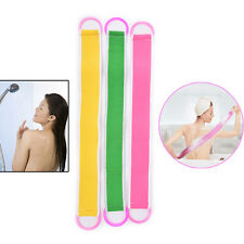 Soft Back Strap Exfoliating Body Bath Shower Back Sponge Brush ScrubberM7