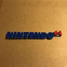 Nintendo 64 N64 Video Game System Display Sign - Custom Made