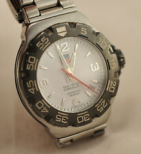 TAG HEUER FORMULA 1 DATE WAC1111 200 MT GOOD CONDITION QUARTZ  MAN WATCH