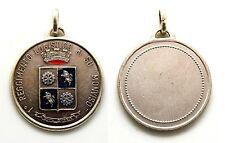 """Medaglia I° Reggimento Logistico Di Su """"Monviso"""" Metallo Argentato"""