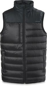Dakine Men's Recoil Reversible Packable Down Midlayer Vest Large Black New
