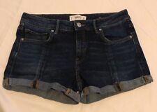 "Ladies Mango Denim Shorts Size EUR 38 Waits 29"""