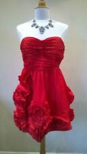 Polyester Women's All Seasons with Strapless/Bandeau Dresses