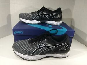 ASICS Mens Gel Nimbus 22 Black Running Training Athletic Shoes Sz 12 2E ZF-42