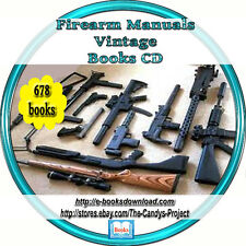 Firearm Manuals Guns Rifles Gunsmith Mastery Vintage Books Cd Collection