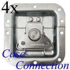 4x Butterfly - Schloß - 13mm Schale - mittel # Verschluß Case Catch medium 12mm