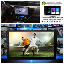 2 DIN 9'' 1080P Touch Screen Car Stereo Radio Video Player BT WiFi GPS TPMS OBD