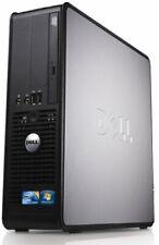 Cheap Fast Dell 780 Dual Core 128Gb SSD 8GB DVD Windows 10 Computer Desktop PC
