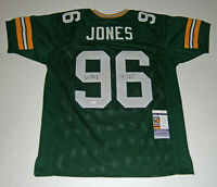 PACKERS Sean Jones signed custom jersey w/ SB XXXI Champs JSA COA AUTO Autograph