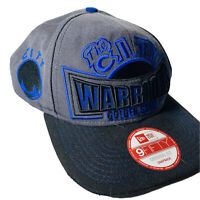 Golden State Warriors New Era 9FIFTY Snapback Adjustable Hat - Gray Black