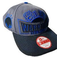 Golden State Warriors New Era 9FIFTY Snapback Adjustable Hat - Gray Black