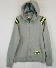 Nike Green Bay Packers Sample Terry Patch Hoodie Jacket Sz L
