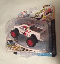 Hyper-Maxx(2013 Maisto)High-Torque Pull-Back Motorized Vehicle(White Truck)