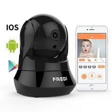 Baby MONITOR WIFI telecomando fotocamera Vista Pan/Tilt di sicurezza Plug & Play 2-Way Audio