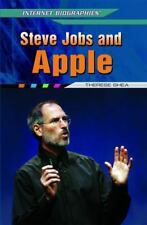 Steve Jobs and Apple (Internet Biographies)-ExLibrary