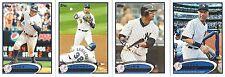 2012 Topps New York Yankees Series 1+2  29 Card Set Jeter Rivera Mantle Lot of 2