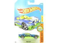 Hotwheels Rally Cat HW Digital Circuit 305/365 Long Card 1 64 Scale Sealed New