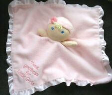 Kids Preferred Pink Security Lovey Blanket Doll Thank Goodness For Little Girls