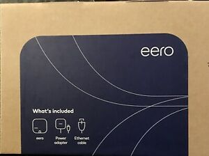 Brand New Eero Pro B010001 2nd Generation AC Tri-Band Mesh Router - White