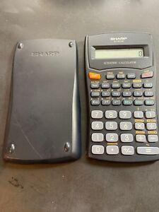 SHARP EL-501W Scientific Calculator - TESTED