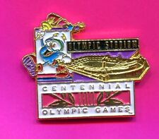 1996 OLYMPIC IZZY PIN OLYMPIC STADIUM PIN IZZY WITH TORCH PIN