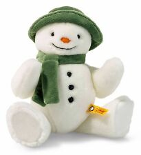 Steiff The Snowman Cuddly Soft White Plush Jointed 27cm Raymond Briggs 690181