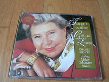 Christa Ludwig ; Farewell to Salzburg - Brahms - Mahler - Strauss - CD RCA 1993
