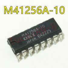 1PCS OKI M41256A-10 DRAM Page Mode 256K x 1 16 Pin Plastic DIP
