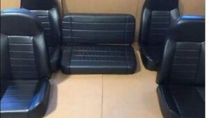 HUMVEE SEATS HUMMER H1 W/ BENCH SEAT M998 HMMWV- #1 SELLER ON EBAY!