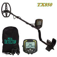 Deep Sensitive Metal Detector Searching Gold Digger Treasure Hunter LCD Gift Set