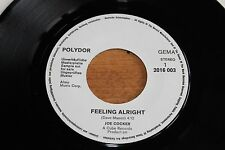 "Joe Cocker / German White Label Promo 7"" /  Feeling Alright Polydor – 2016 003"
