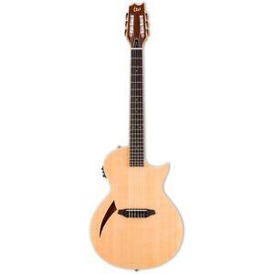 ESP LTD TL-6N Nylon Natural Thinline Acoustic-Electric Guitar B-Stock TL 6 TL6N