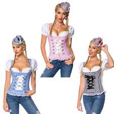 Trachtenmieder Bluse Trachtenbluse Corsage Oktoberfest Trachtenmode Kostüm 70031