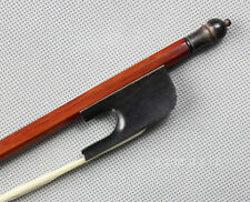 Baroque style Violin Bow Brazilwood Ebony Frog natural horsehair size 4/4