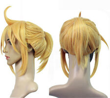 Vocaloid Kagamine Len Cosplay Wig Gold Style Costume Wigs